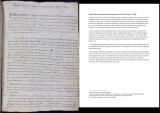 Patente del R.P. Guardián Fr. José Gazol de 1o de Octubre de 1806 (Official Letter from Reverend Father Guardian Fr....